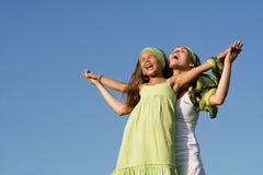 Madre e bambino felici Immagini Stock Libere da Diritti