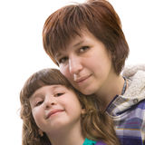 Madre e daugther Fotografia Stock Libera da Diritti