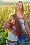 Madre e dougther felici immagini stock