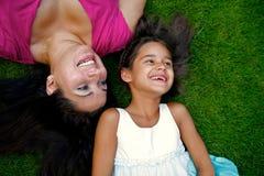 Madre e figlia Immagine Stock Libera da Diritti