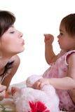 Madre e figlia Immagini Stock Libere da Diritti