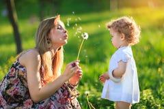 Madre e figlia Immagini Stock