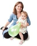 Madre e figlia felici Fotografia Stock Libera da Diritti