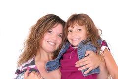 Madre e figlia insieme immagine stock libera da diritti