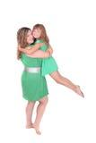 Madre e figlia insieme fotografie stock libere da diritti