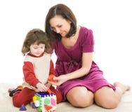 Madre e figlia, migliori amici Immagini Stock