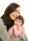 Madre e figlia, migliori amici Fotografie Stock Libere da Diritti