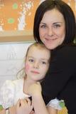 Madre e figlia più felici Immagine Stock Libera da Diritti