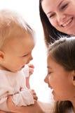 Madre e figlie Fotografie Stock
