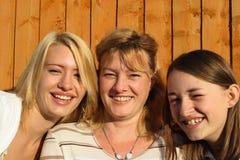 Madre e figlie. Immagini Stock