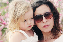 Madre e figlie immagine stock