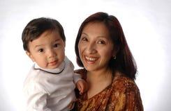 Madre e figlio immagini stock