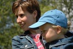 Madre e figlio Immagine Stock Libera da Diritti