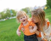 Madre e figlio felici Fotografia Stock Libera da Diritti