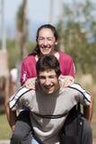 Madre e figlio teenager Fotografia Stock Libera da Diritti