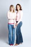 Madre e hija Foto de archivo