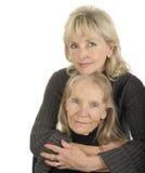 Madre e hija Imagen de archivo libre de regalías