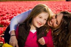 Madre e hija Foto de archivo libre de regalías