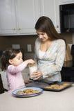 Madre e hija. Fotos de archivo