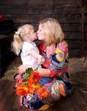 Madre e hija Fotografía de archivo