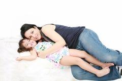 Madre e hija Fotografía de archivo libre de regalías