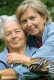 Madre e hija [3] fotos de archivo