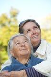 Madre e hija felices Imagen de archivo libre de regalías