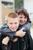 Madre e hijo Foto de archivo