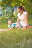 Madre e hijo Fotografía de archivo libre de regalías