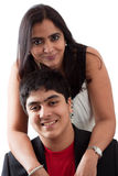 Madre e hijo del indio Imagen de archivo libre de regalías