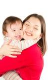 Madre e neonata Fotografia Stock Libera da Diritti