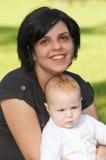 Madre e neonato immagine stock