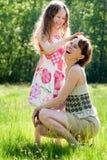 Madre e rapporto del daugther fotografia stock
