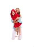 Madre felice con il figlio allegro Fotografia Stock