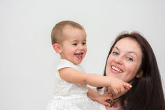 Madre hermosa Fotografía de archivo libre de regalías