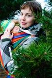Madre joven y su bebé Fotografía de archivo
