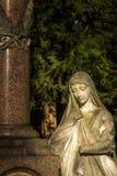 Madre Mary Christianity Religion in natura fotografia stock libera da diritti