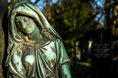 Madre Mary Christianity Religion in natura fotografie stock