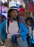Madre peruana Foto de archivo