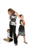Madre profesional en el teléfono fotos de archivo libres de regalías