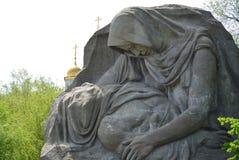 Madre que se aflige Fotos de archivo
