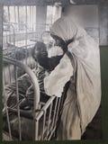 Madre Teresa en la India i fotografía de archivo