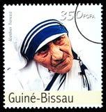 Madre Teresa Postage Stamp fotos de archivo libres de regalías
