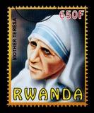 Madre Teresa Postage Stamp imagen de archivo