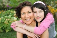 Madre y adolescente Fotografía de archivo libre de regalías