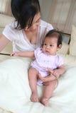 Madre y bebé 2 Imagen de archivo libre de regalías