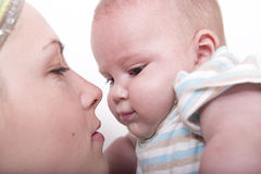Madre y bebé Fotografía de archivo