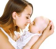 Madre y bebé del sueño fotografía de archivo libre de regalías