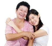 Madre y hija imagenes de archivo