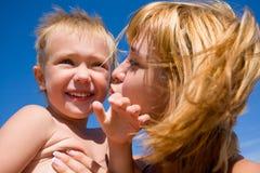 Madre y hijo Imagen de archivo